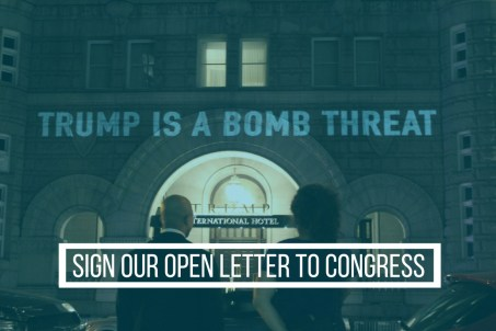 Trump bomb threat